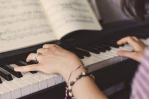piano, music, keys